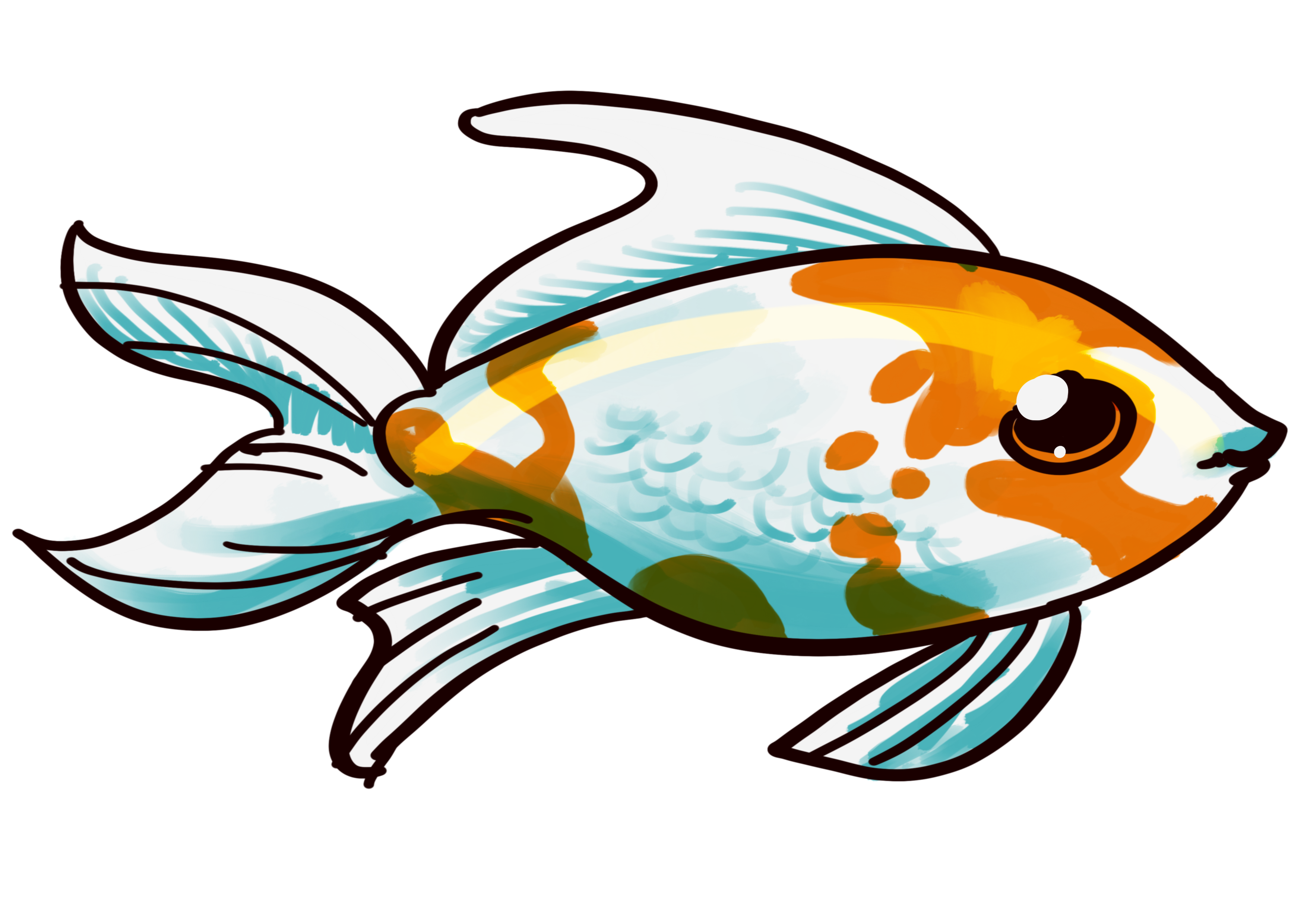 the treatment on goldfish The goldfish (carassius auratus) is a freshwater fish in the family cyprinidae of order cypriniformes it is one of the most commonly kept aquarium fish.
